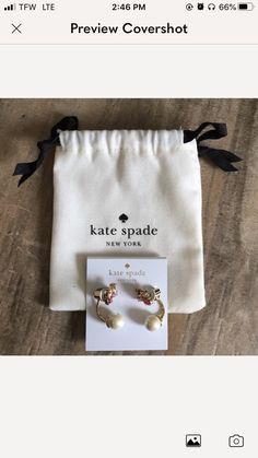 Brand- Kate Spade New York ♠️ Condition- NWT Never Worn Bag Included Pink multi Color Beaded Dangle Earrings Smoke Free Home Kate Spade Earrings, Pink Earrings, Dangle Earrings, Dangles, Smoke Free, York, Bags, Color, Handbags