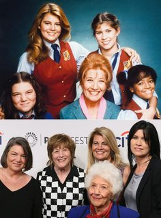 These actors are getting back together years after their hit shows and movies. Facts Of Life Cast, Nancy Mckeon, Charlotte Rae, Young Movie, Celebrities Then And Now, Life Tv, Old Shows, Great Tv Shows, Tv Actors
