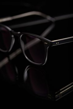 Black | 黒 | Kuro | Nero | Noir | Preto | Ebony | Sable | Onyx | Charcoal | Obsidian | Jet | Raven | Color | Texture | Pattern | Styling | Glasses | Photography | Spectacles | Mens' Accessories | Garrett Leigh