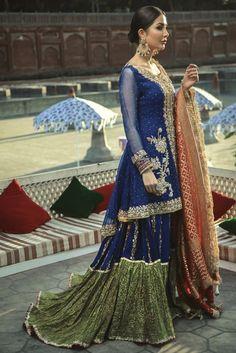 Pakistani Party Wear, Pakistani Wedding Outfits, Pakistani Dress Design, Pakistani Dresses, Indian Dresses, Indian Outfits, Pakistani Suits, Indian Clothes, Bridal Outfits