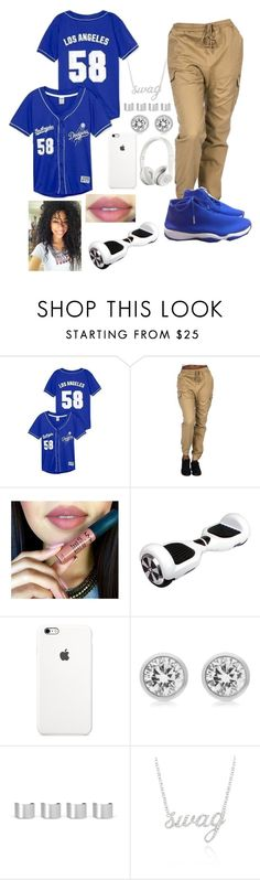 """blue poppin or nah? comment"" by lovermonster ❤ liked on Polyvore featuring Victoria's Secret, Freaker, Beats by Dr. Dre, Michael Kors, Maison Margiela and Belk & Co."