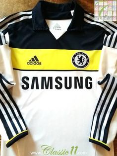 93ab88942 2011 12 Chelsea 3rd Techfit Player Issue Football Shirt (M)