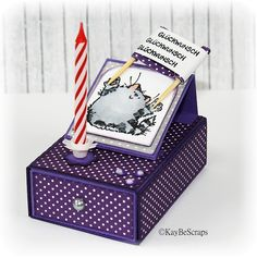 KayBeScraps: Tutorial: Geburtstagsbox