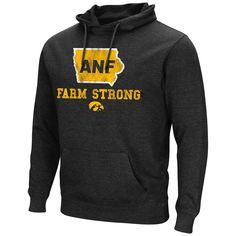 Iowa Hawkeyes Colosseum America Needs Farmers ANF Farm Strong Hoodie Sweatshirt