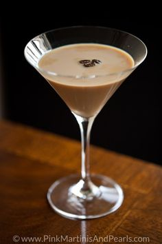 The Espresso Martini. Heaven in a glass. The perfect cocktail to end a perfect day.