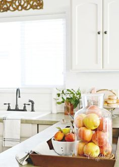 Easy, budget-friendly kitchen and dining room updates | MyFabulessLife.com
