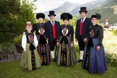The Montafoner garb is worn on festive occasions #visitvorarlberg #myvorarlberg #montafon