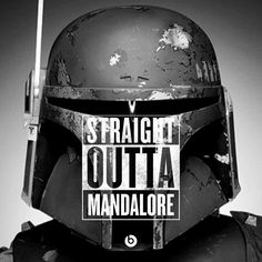 Straight outta Mandalore, crazy bounty hunter named Boba Cube!