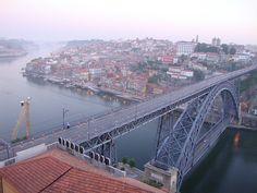 Ponte Dom Luis ao amanhecer