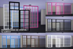 Sims 4 CC's - The Best: Glass divider by pqSims4