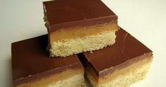 Ingrédients:  150gr de chocolat au lait Ingrédients  pour le shortbread : 180 gr de farine 90 gr de beurre coupé en dés 45 gr de sucre ...