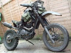 grabenratte (old)  Total Wasteland bike.  totally mad maxish