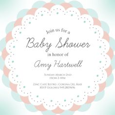 Free Printable Baby Shower Guest List Baby Floral Arcs  Free Printable Baby Shower Invitation Template .