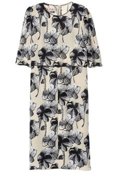 Marni Collage Print Dress