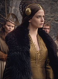 "starsareforeternity: ""Eva Green in Camelot "" Eva Green Camelot, Actress Eva Green, Vikings Ragnar, Fantasy City, Mary Elizabeth Winstead, French Beauty, French Actress, Jessica Chastain, Charlize Theron"