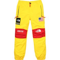 Supreme ❤ liked on Polyvore featuring pants