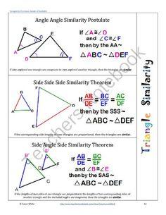 Similar angles, proofs