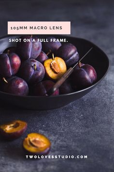 Two Loves Studio Food Photography Courses & Tips for Food Photographers - Photography Course - Ideas of Photography Course - Gorgeous Still Life Italian Plums by Food Photographer Rachel Korinek. Food Photography Course, Dark Food Photography, Still Life Photography, Photography Courses, Photography Editing, Macro Photography, Plum Fruit, Fruit And Veg, Fruits And Veggies