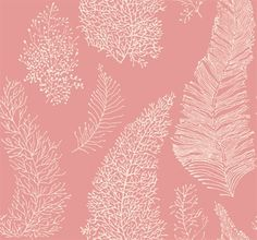 This would be perfect wallpaper for the pink bathroom if I could get the background in navy blue