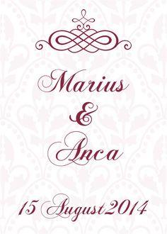 Eticheta pentru sticla, autocolanta VINTAGE 1.  #Etichetele din gama Vintage dau o nota de eleganta nuntii si evenimentului pe care il veti celebra. Vintage, Vintage Comics