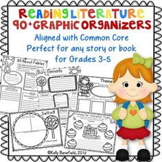Are you looking for a resource that will help your students think deeply about their reading? If so, this is the resource for you! You and your students will both love this reading resource! Use these graphic organizers in small groupsliterature circlescentersreading workshopwith any reading seriesor  whole group.
