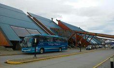 Aeropuerto Internacional Malvinas Argentinas. Ushuaia. Tierra del Fuego. Argentina