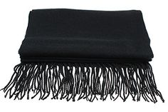 Sven Home Womens Scarf Fashion Long Shawl Winter Warm Solid Color Scarves Soft Cashmere Scarfs Black 75 Inch. Imported.100% Satisfaction guaranteed: Luxurious, softest Unisex cashmere scarf, unique manufacturing process, experience the difference!. Material:Cashmere 50% /Polyester 50% Size: 75L*25W Inches Solid Color Men Women Scarfs. Winter Autumn Warm Womens Scarf Soft And Close To The Skin, the manufacturers commitment does not fade, no pilling. Black Cashmere Scarf Makes An Excellent…