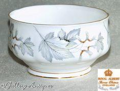 Earthenware, Stoneware, Cut Glass, Glass Art, Ice Cream Seller, Royal Albert, Sugar Bowl, Vintage Silver, The Hamptons