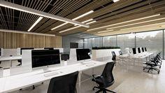 专为IT人士设计的办公楼:乌克兰基辅 UN.IT. 项目 / M3 事务所 - 谷德设计网