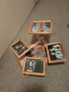 Photo frame Cup Cake Stand