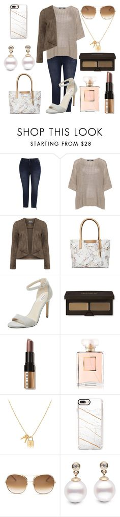 """Plus size style 💫"" by solbustos ❤ liked on Polyvore featuring Melissa McCarthy Seven7, navabi, Manon Baptiste, Calvin Klein, Elorie, Laura Mercier, Bobbi Brown Cosmetics, Chanel, Casetify and Chloé"