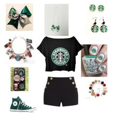553ecec1341c8b Starbucks by mel-box on Polyvore featuring polyvore