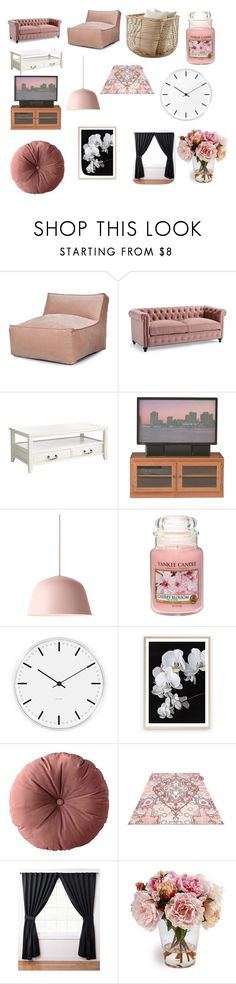 """Untitled #3"" by ilnowitslove-m ❤ liked on Polyvore featuring Frontgate, Pier 1 Imports, DutchCrafters, Muuto, Yankee Candle and Rosendahl"