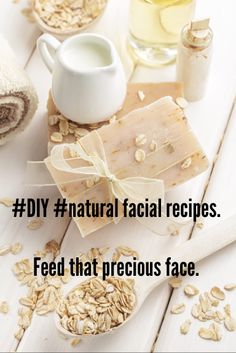 #DIY #easy #natural facials. Silk for your #face. Raid your pantry, feed your face.