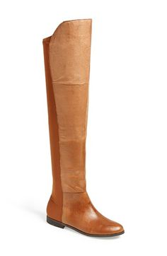 Chinese Laundry 'Riley' Over The Knee Boot (Women) available at #Nordstrom - all black