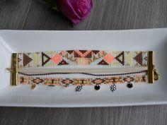 Bracelet, Perles Miyuki