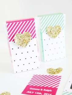 Tic Tac® DIY Wedding Favor Idea with Free Printables!! by Bird's Party