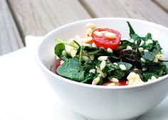 Dinner Quick: Arugula with Orzo and Garden Tomatoes Recipes from The Kitchn