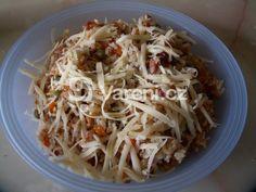 Recept na rychlý a jednoduchý oběd nebo večeři, když není čas na dlouhé vyváření. Spaghetti, Ethnic Recipes, Noodle