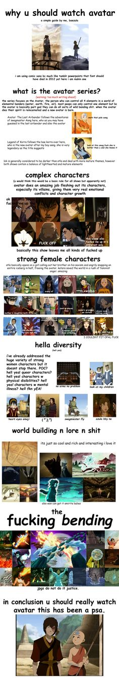 this didn't even include the most compelling reason which is: zuko's character arc