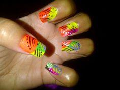 Colores vivos Nail Colors, Nails, Beauty, Bold Colors, Finger Nails, Beleza, Ongles, Nail, Nail Manicure
