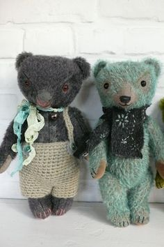 PDFEpattern to make a bear like Mooser Tucky or Wolli. by pussman