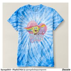 SpongeBob - Playful Pals T Shirt #camiseta #tshirt