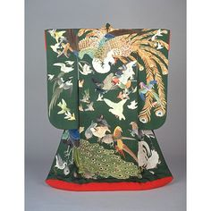 Uchikake, Meiji or Taisho, Kyoto National Museum