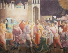 Paolo Ucello, Stoning of St. Stephen, 1435