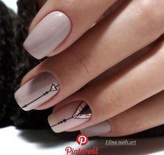 ideas nails sencillas acrilico – My World Simple Acrylic Nails, Cute Acrylic Nails, Nail Art Diy, Diy Nails, Diy Art, Tumblr Nail Art, Diy Tumblr, Tumblr Mode, Diy Nail Designs