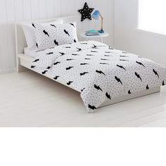 Quilt Cover Set - Single Bed, Lightning Printed