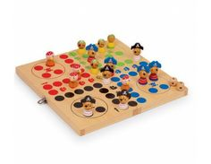 Table Game Ludo Pirate Island Wooden Chldren's Toy New 2430 Mini Bowling, Ludo, Pirate Island, Tin Toys, Table Games, Games For Kids, Box, Wooden Toys, Card Games