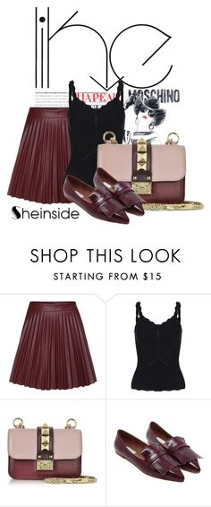 """""""Sheinside II/3"""" by doris-popovic ❤ liked on Polyvore featuring Moschino and Valentino"""