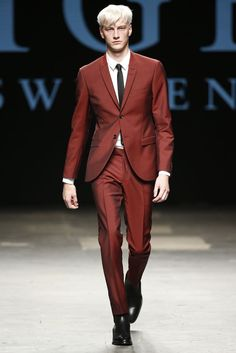 Tiger of Sweden Men's RTW Spring 2015 [Photo by Giovanni Giannoni]